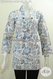 desain baju batik halus halus dan dewasa baju batik blus anggun model baju batik modern 2018