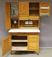 sellers hoosier cabinet for sale sellers oak tambour hoosier cabinet sale number 2630m lot number