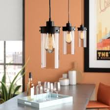 pendant lights kitchen island kitchen island lighting you ll wayfair