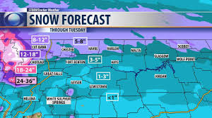 Montana Highway Map Major Winter Storm Will Drop 1 2 U0027 Of Snow On Parts Of Montana