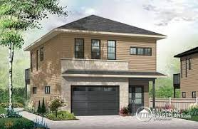 garage house floor plans narrow lot house plans below 40 from drummondhouseplans