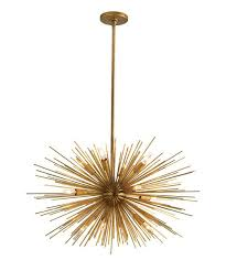 Sputnik Light Fixture by Arteriors Zanadoo 12l Iron Chandelier Spiky Light Sweet