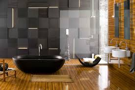 Black Laminate Flooring For Bathrooms Bathroom Marvellous Contemporary Home Master Bathroom Spa Idea