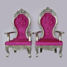 and groom chair pink wedding and groom chair rs 10000 shree krishna