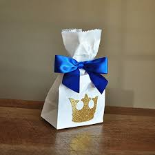 royal prince baby shower favors royal prince baby shower favor bags mini party favor