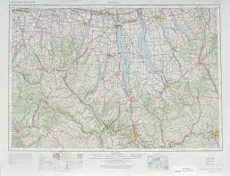 Ithaca New York Map by Kayaker Destinations Upstate New York The Kayaker