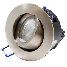 Recessed Halogen Ceiling Lights 5w Directional Cob Led Recessed Lighting Fixture Silver Torchstar