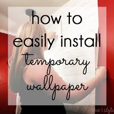 inswall wallpapers diy with style how to install temporary removable wallpaper