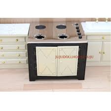 dollhouse kitchen furniture new arrival metal 1 12 dollhouse miniature kitchen stove cooking