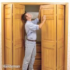 Craftsman Closet Doors Attractive Oak Bifold Closet Doors Bifold Closet Door Hardware