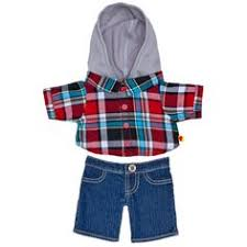 build a clothes for boys days blue pj s teddy clothes fits most 14 18