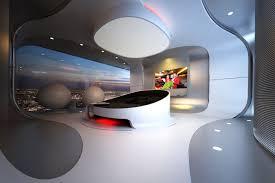 Futuristic Home Interior Futuristic Hotel Room Interior Design Day Light Adrian U0027s Work
