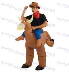 Halloween Costume Sale Sale Halloween Costumes Inflatable Funny Cowboy Ride