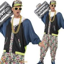 90s hip hop fashion men mens 80s 90s hip hop star rapper vanilla ice fancy dress costume