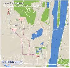 Changsha China Map by Icpcsee 2017 Ei Or Sci Indexed Originally Icycsee 2017