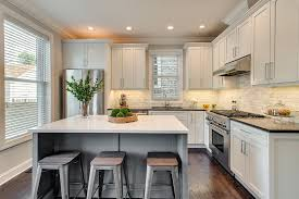 contemporary kitchen ideas contemporary kitchen with flat panel cabinets by dan rak zillow