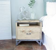 industrial nightstand buildsomething com