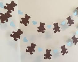teddy decorations teddy decor etsy