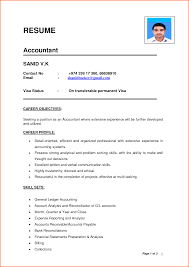 Resume Format Experienced Pdf by Resume Format For Experienced Accountant Pdf Free Resume Example