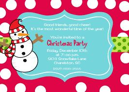 wonderful christmas birthday party invitations theruntime com