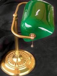 Desk Lam Green Glass Desk Lamp Foter