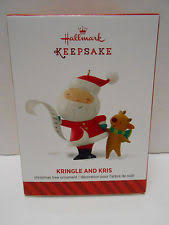 hallmark 2014 kringle and kris 1st in series ornament ebay
