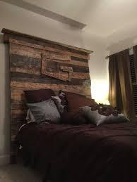 Wood Pallet Headboard Excellent Idea Of Wood Pallets Headboard Photo Beds Amp Headboards