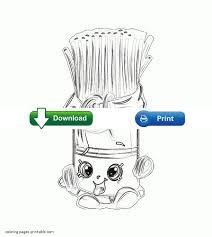 free printable shopkins coloring sheets fasta pasta