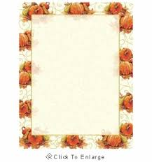 pumpkin swirl fall autumn border paper two great coupon offers