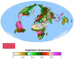 Boston University Campus Map by Vegetation Remote Sensing U0026 Climate Research Boston University