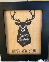 free rustic deer sign christmas printable how to keep bottles