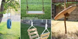 Diy Backyard Swing Set Diy Swing Set Tutorials For Kids Kids Art U0026 Craft