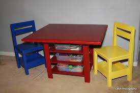 kids table with storage wonderful ana white kids storage table with extra storage diy