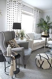 Gray Living Room Furniture by Black And White Chairs Living Room Fresh In Best Pretentious Idea