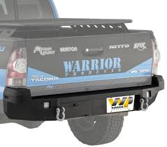2007 toyota tacoma rear bumper 2nd 2005 2015 tacoma accessories parts and accessories