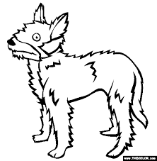 dogs coloring pages 2