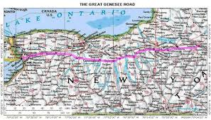 Map Buffalo Genesee County New York Nygenweb