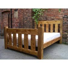 rustic wood bed great home design references home jhj