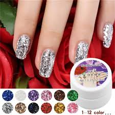 12 colors optional 1pcs retail sale nail uv gel color for nail