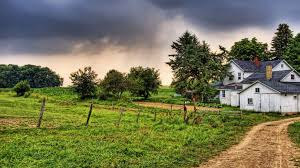 country home under stormy sky wallpaper allwallpaper in 16551