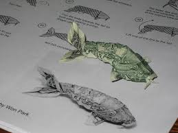 Origami Koi Fish Dollar Bill - dollar koi fish designer won park folder brian k webb pic 3