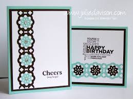 How To Make Punch Cards - julie u0027s stamping spot stampin u0027 up project ideas by julie