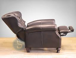 amazon com presidental ii leather wing power electric recliner