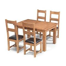 Oak Table And Chairs Rustic Oak Furniture Collection Lifestyle Furniture Uk