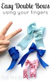 how to make hair bows how to make a bow hair bow diy ted s