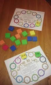 telling time games and activities lena homeschool pinterest