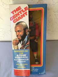 mr t earrings a team the gentle mr t figure doll galoob new in box