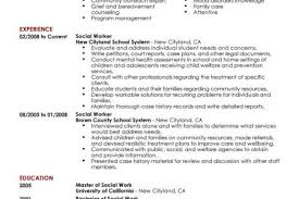 Social Work Resume Objective Examples by Social Worker Resume Templates Sample Templates Resume Templates