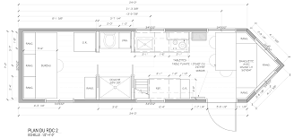 Steel Floor Framing Plan Tiny House Lumbec Le Projet 2015