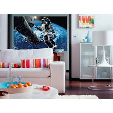 ideal decor 69 in h x 45 in w tiger wall mural dm608 the home space cowboy wall mural